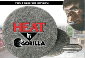 "PAD 18"" HEAT BY GORILLA"
